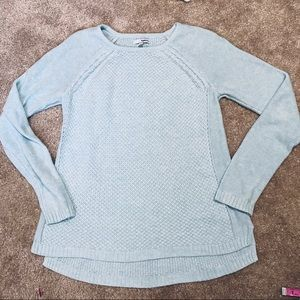 🌺2/$20 Sonoma baby blue sweater size small